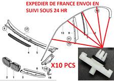 10 clips Bmw E46 moulure de coté de portière Clip Bmw 316/318/320/325/330.......