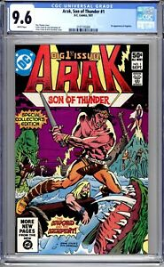 Arak, Son Of Thunder #1 - CGC Graded 9.6 (NM+) 1981 - First Issue - Bronze Age