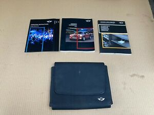 Mini cooper R56 owners wallet leather with booklets 2007-2010