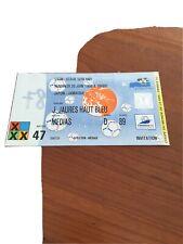 Ticket Japon Jamaique Coupe Du Monde 98