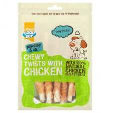 GoodBoy Pawsley Chewy Twists With Chicken 90g