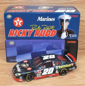 Genuine Action Marines Official 2000 NASCAR 1:24 SCale Stock Car - Ricky Rudd