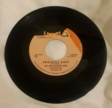 """Five Man Electrical Band - Absolutely Right / Butterfly 45 RPM 7"""" LIONEL 1971"""