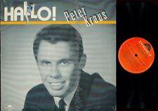 LP--PETER KRAUS--HALLO--AUSTRO MECHANA