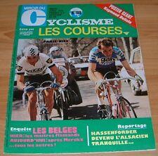 MIROIR CYCLISME N°198 1975 R. DELISLE HASSENFORDER BELGIQUE MERCKX PARIS-NICE