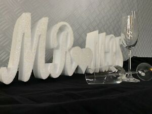 **SALE** Mr & Mrs Sign - Mr and Mrs Letters - Wedding Ideas **SALE**