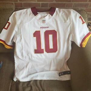 COLLECTIBLE Robert Griffin III RG3 Official On Field Nike Jersey Redskins Sz 52