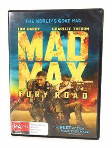 Mad Max: Fury Road (DVD, 2015) Tom Hardy Region 4 Free Postage