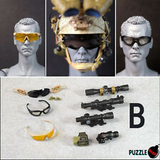HOT FIGURE TOYS 1/6 Puzzle Bomb NEW Modern military goggles and sights B style