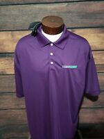 Nike Dri Fit Mens 3XL XXXL Purple Short Sleeve Golf Polo Shirt New