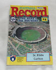 1990 AFL Football Record St Kilda Saints v Carlton Blues Vol.79 No.3