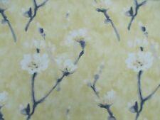 Sanderson Curtain Fabric 'ELENI' 3.2 METRES Indian Yellow - Linen/Viscose Blend