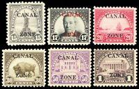 Canal Zone 84-95, Mint OG Complete Set of 12 Stamps Cat $622.00 - Stuart Katz