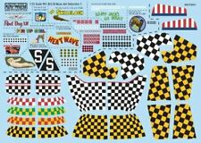 WARBIRD DECALS 1/72 P51 KILL MARKINGS/CHECKERS | 172011