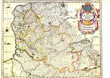TIRAGE 20ème d' APRES CARTE BLAEU DU 17ème siècle  COMTE D' ARTOIS