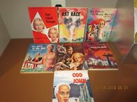 LOT OF 7 GALAXY SCIENCE FICTION MAGAZINES--1950 -1953---R38