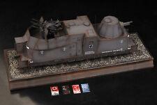 Award Winner Built 1/35 Panzerzug BP42 Geschützwagen Armored Train +PE +Acc