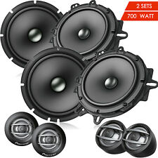 "NEW Pioneer TS-A1607C 6.5"" 2-Way Car 700 Watts Component Speaker 6-1/2"" - 2 Sets"