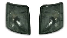 2 CLIGNOTANTS AVANT GRIS BLACK VW TRANSPORTER T4 BENNE 2.5 TDI SYNCRO 09/1990-08