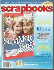 Scrapbooks Etc July 2008 Summer Fun/Stamps/Wedding Ideas/Vacation Overload