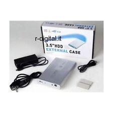 """BOX ESTERNO IDE 3.5 LINQ USB HD HARD DISK 3.5"""" CASE PATA ATA ALIMENTATORE USB"""