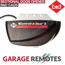 Sectional Tilt Opener B&D Controll-A-Door Garage Door Motor CADS Panel 62395