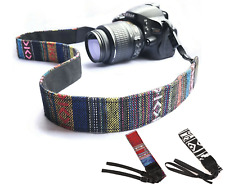 Vintage Novelty CAMERA STRAP Single Shoulder Neck Strap DSLR Canon Sony Nikon