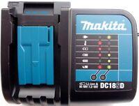 DC18SD Makita LXT 18V Battery Charger 18 Volt 4 BL1830, BL1815, BL1840, BL1850