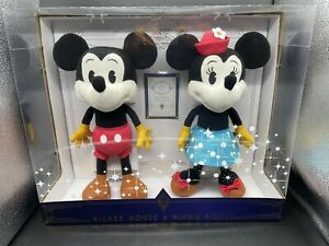 """Disney February Treasures From the Vault Mickey and Minnie Mouse 16"""" Plush Set"""