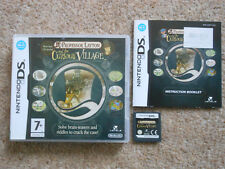 PROFESSOR LAYTON and the CURIOUS VILLAGE * GAME DS / DS LITE / DSi ' GENUINE '