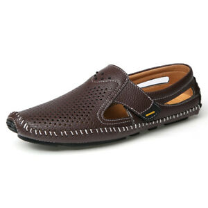 Mens Faux Leather Driving Moccasins Shoes Pumps Slip on Loafers Trendy Comfy New