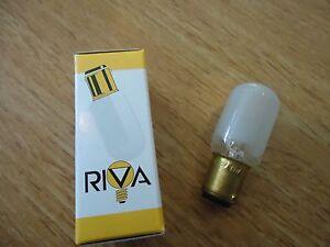 viking husqvarna sewing machine  bayonet light bulb (riva) models 1,000-6000