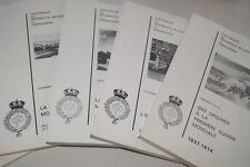 HISTORIQUE REGIMENTS BELGES DE GRENADIER GUERRE 14 18-39 45 MASSART 5/5 ERKENS