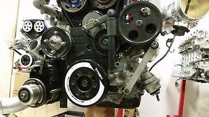 Toyota 1JZ and 2JZ airco remove bracket.