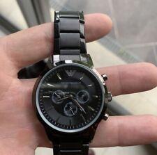 NEW Emporio Armani AR1451 Men's Ceramica Wrist Watch