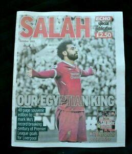 Liverpool Echo Newspaper Special Edition MO SALAH Egyptian King LFC October 2021