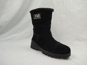 Sam Edelman Kaylie Black Suede Waterproof Winter Boots Women's Size 6.5 M US