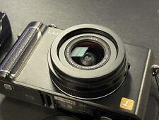 Used Panasonic LUMIX DMC-LX3 10.1MP Digital Camera - Black