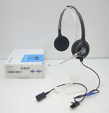 Plantronics HW261 SupraPlus Binaural WideBand Voice Tube Headset uses with M22