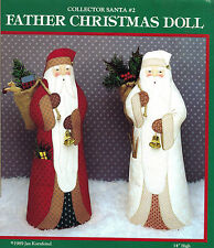 Father Christmas Doll Pattern Packet by Jan Kornfiend~OOP