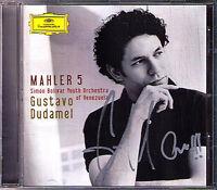 Gustavo DUDAMEL Signiert MAHLER Symphony No.5 Simon Bolivar Youth Orchestra CD