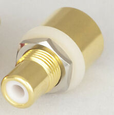 MANLEY RCA Gold-plated & Teflon phono jack Brand NEW!