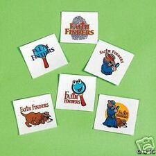 Faith Finders VBS 12 Glow in the Dark Temporary Tattoos