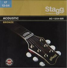 Bronze Jeu de cordes pour Guitare Acoustique - Light Stagg