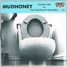 "MUDHONEY 'Touch Me I'm Sick 7"" NEW Sub Pop Black wax nirvana pearl jam MELVINS"