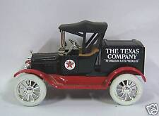 TEXACO 1918 FORD MODEL T RUNABOUT LOCKING COIN BANK