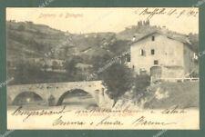 Emilia Romagna. SAN RUFFILLO, Bologna. Ponte Paleotto. Cartolina d'epoca viag.