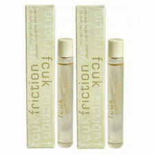 FCUK Friction Women French Connection EDP Rollerball 0.33 oz / 10 ml - Pack of 2