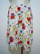 NAF NAF Gonna Donna Lino Cotone Woman Flax Cotton Skirt Sz.L - 46