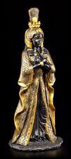 Kleopatra Figur - schwarz-gold - Ägypten Pharaonin Königin Deko Statue